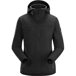 Arcteryx Covert Hoody - Womens-Black Heather