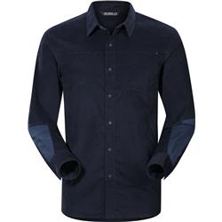 Arcteryx Merlon LS Shirt - Mens-Kingfisher
