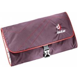 Deuter Wash Bag II-Aubergine / Fire