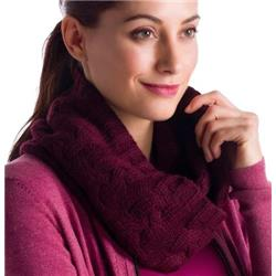 Lole Cable Scarf - Womens-Zinfandel