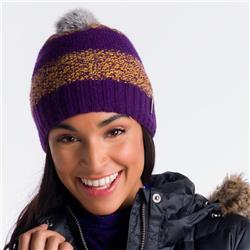 Lole 2 Tone Beanie - Womens-Blackberry