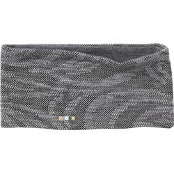 Smartwool NTS Mid 250 Reversible Pattern Headband-Black Snow Swirl