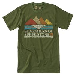 Hippy Tree Searchers Tee - Mens-Army