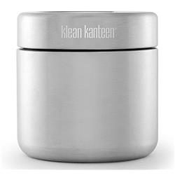 Klean Kanteen 473ml / 16oz Food Canister with Stainless Lid-Brushed Stainless