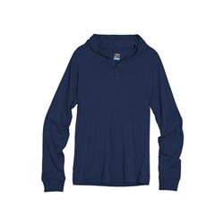 Icebreaker Sphere LS Hood - Mens-Admiral Heather