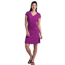 Kuhl Verona Dress - Womens-Orchid Print