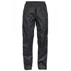 "Marmot PreCip Full Zip Pant, Short, 29"" Inseam - Womens-Black"