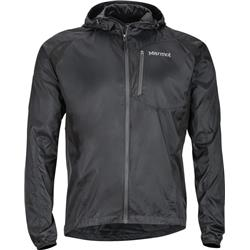 Marmot Trail Wind Hoody - Mens-Black