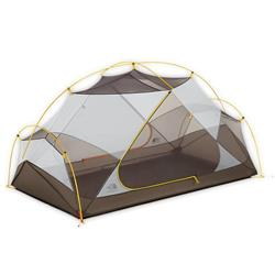 The North Face Triarch 2, 2 Person, Featherlite Tent-Summit Gold / Weimaraner Brown