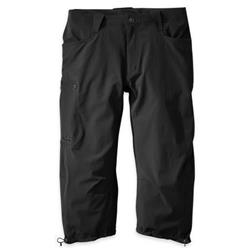 "Outdoor Research Ferrosi 3/4 Pants, 20"" Inseam - Mens-Black"