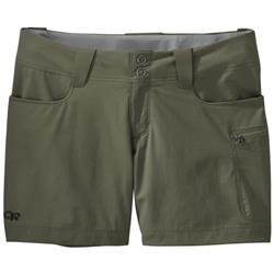"Outdoor Research Ferrosi Summit Shorts, 5"" Inseam - Womens-Fatigue"