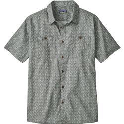 Patagonia Back Step Shirt - Mens-Batik Hex Micro / Hex Grey