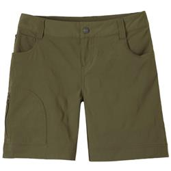 "Prana Hazel Short, 7"" Inseam - Womens-Cargo Green"