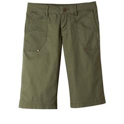 "Prana Larissa Knicker, 13"" Inseam - Womens-Cargo Green"
