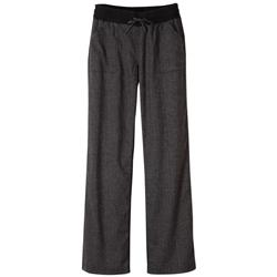 "Prana Mantra Pant, 32"" Inseam - Womens-Black Herringbone"