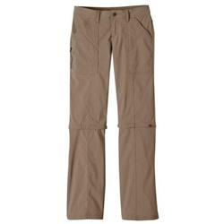 Prana Monarch Convertible Pant, Short - Womens-Dark Khaki