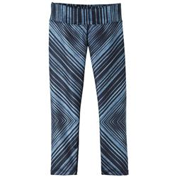 "Prana Roxanne Capri, 20"" Inseam - Womens-Black Stripe"