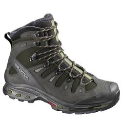 Salomon Quest 4D 2 GTX - Iguana Green / Asphalt / Dark Titanium - Mens-Not Applicable
