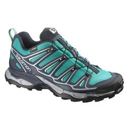 Salomon X Ultra 2 GTX - Peacock Blue / Deep Blue / Lucite Green - Womens-Not Applicable