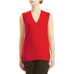 Fig Clothing Mag Top / Madang - Womens-Cardinal