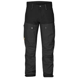 Fjallraven Keb Trousers, Reg - Mens-Black
