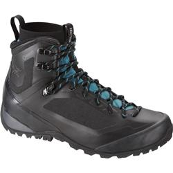 Arcteryx Bora Mid GTX Hiking Boot - Womens-Black / Mid Seaspray