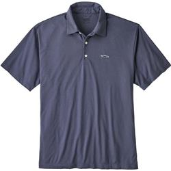 Patagonia Trout Fitz Roy Polo - Mens-Dolomite Blue