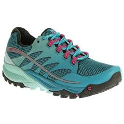 Merrell All Out Charge - Algiers Blue / Adventurine - Womens-Not Applicable