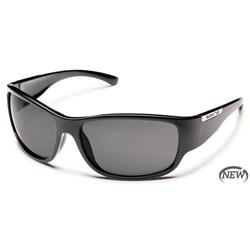 Suncloud Convoy, Black Frame, Gray Polarized Polycarbonate Lens-Not Applicable