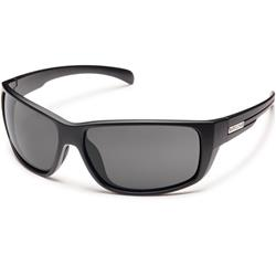 Suncloud Milestone, Matte Black Frame, Polarized Gray Lens-Not Applicable