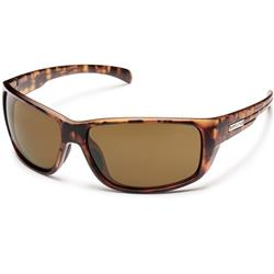 Suncloud Milestone, Matte Tortoise Frame, Polarized Brown Lens-Not Applicable