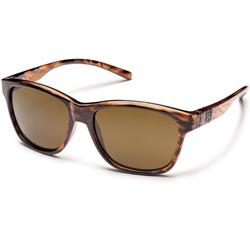 Suncloud Pageant, Tortoise Frame, Polarized Brown Lens-Not Applicable