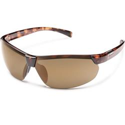 Suncloud Switchback, Tortoise Frame, Polarized Sienna Mirror Lens-Not Applicable