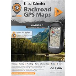Backroad Mapbooks British Columbia GPS Maps (DVD)-Not Applicable
