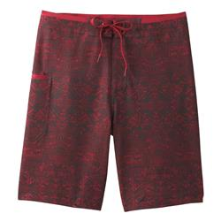 "Prana Catalyst Short, 9"" Inseam - Mens-Crimson Cabana"