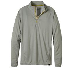 Prana Orion 1/4 Zip - Mens-Silver