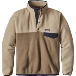Patagonia Lightweight Synchilla Snap-T Pullover - Mens-Ash Tan