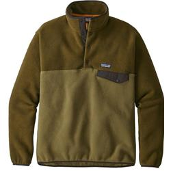 Patagonia Lightweight Synchilla Snap-T Pullover - Mens-Cargo Green