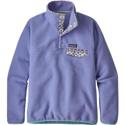 Patagonia Lightweight Synchilla Snap-T Pullover - Womens-Light Violet Blue