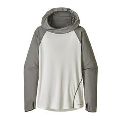 Patagonia Sunshade Hoody - Womens-Illustrated Trout / Birch White