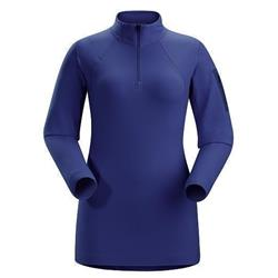 Arcteryx Rho LT Zip Neck - Womens-Azulene