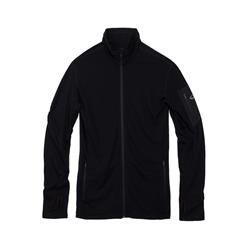 Icebreaker Compass LS Zip - Mens-Black / Black