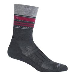 Hike Crew Merino Socks - Medium Cushion - Stripe - Womens
