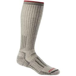 Icebreaker Hunt & Fish Expedition OTC Socks - Expedition Cushion - Mens-Natural Cargo Heather / Cargo / Red