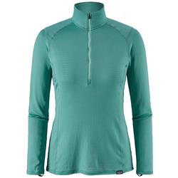 Patagonia Capilene Thermal Weight Zip Neck - Womens-Beryl Green