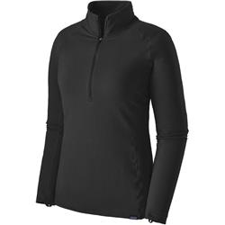 Patagonia Capilene Thermal Weight Zip Neck - Womens-Black