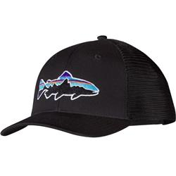 Patagonia Fitz Roy Trout Trucker Hat-Black