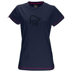 Norrona /29 Cotton Logo T-Shirt - Womens-Space