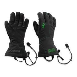 Outdoor Research Luminary Sensor Gloves - Mens-Black / Flash