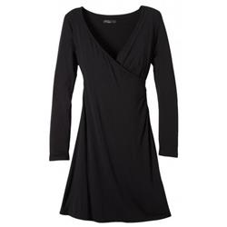 Prana Nadia Dress - Womens-Black